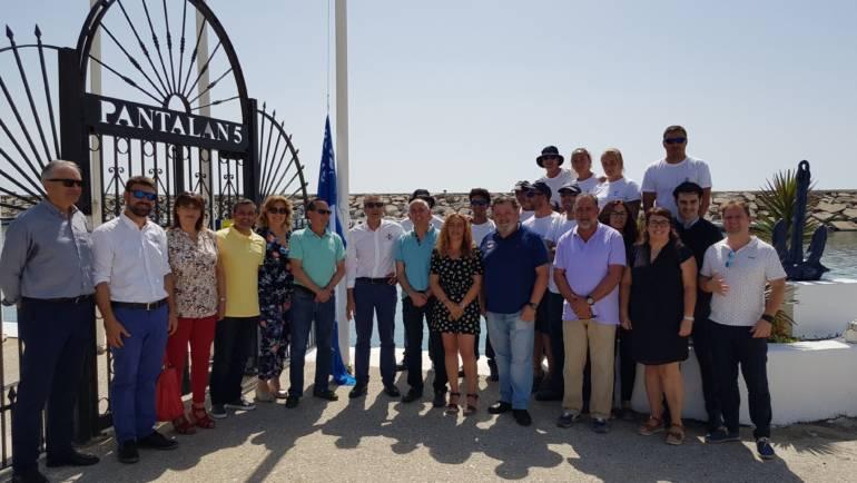 El Puerto de La Duquesa luce nuevamente la Bandera Azul como distintivo de calidad en sus instalaciones