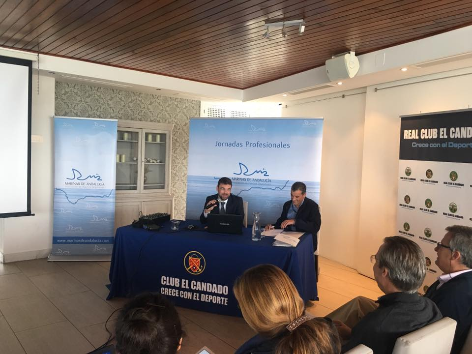 Marinas del Mediterráneo participates in the I Professional Day of Marinas of Andalusia