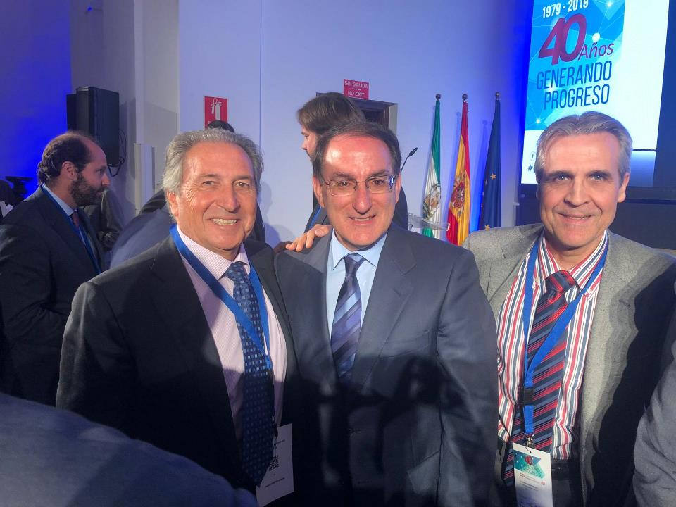 Mediterranean Marinas, present at the celebration of the 40 CEA anniversary