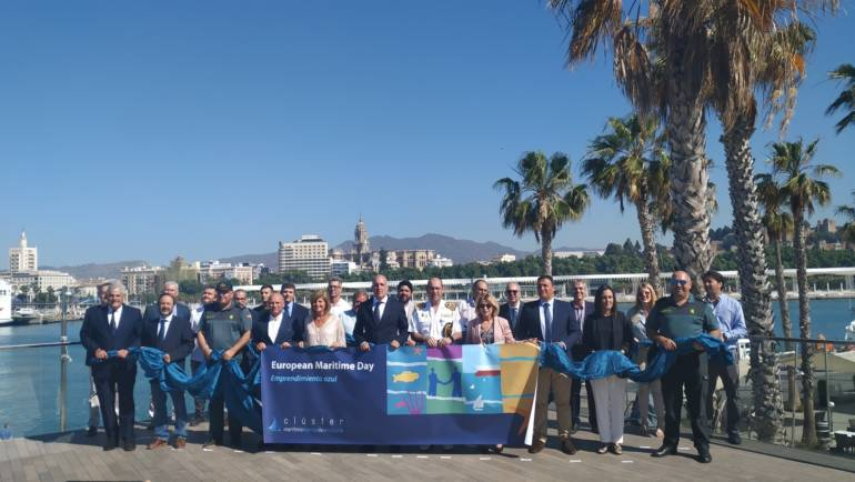 The managing director of the Mediterranean marine group, Manuel Raigon, has attended the celebration of European Maritime Day 2019 in Malaga