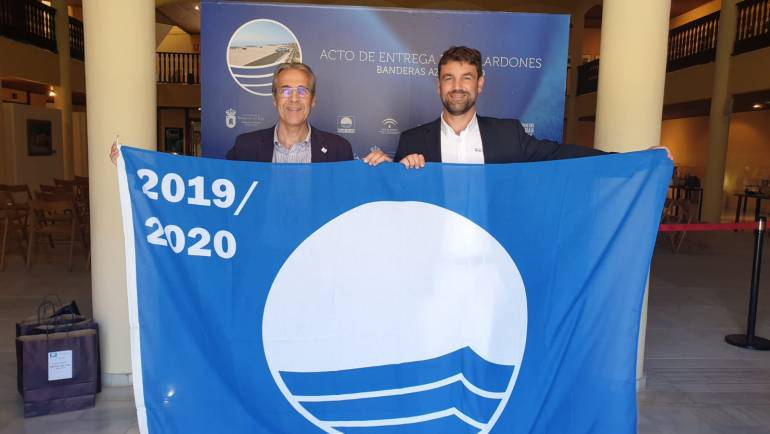 Mediterranean Navies will hoist the blue flags of its three marinas in the coming days