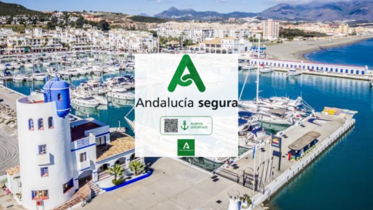 """The Marina of La Duquesa gets the badge """"Andalucía Segura"""""""