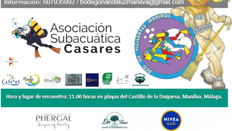 The Underwater Association of Casares organizes the VII International Cleaning of the Seabed
