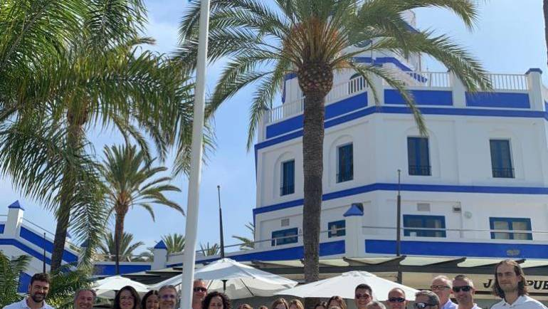 The Marina of Estepona looks 22 years in a row the Blue Flag in its facilities
