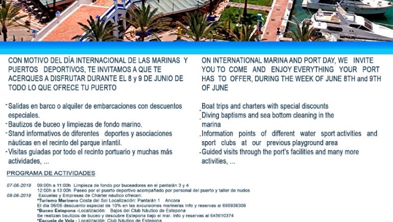 Mediterranean Marinas celebrates Marina Day 8 June with numerous activities in its marinas