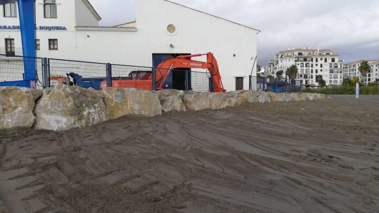 Les Marinas méditerranéennes se produisent plus que 200 l'amélioration et l'entretien des ports d'Estepona et de La Duquesa