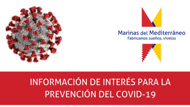 Informations d'intérêt pour la prévention DU COVID-19