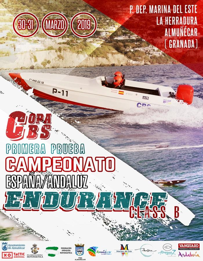 Marina del Este acoge este fin de semana el Campeonato de España y de Andalucía Endurance Class B