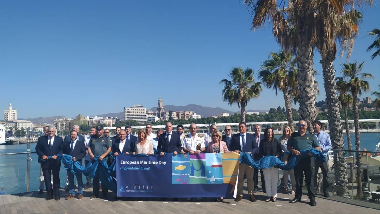 El director gerente del Grupo Marinas del Mediterráneo, Manuel Raigón, ha asistido a la celebración del Día Marítimo Europeo 2019 en Málaga