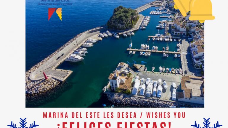 Marina del Este te desea una Feliz Navidad y un año 2020 lleno de prosperidad