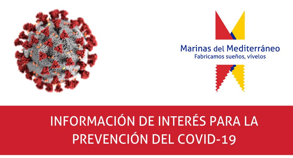 Información de interés para la prevención del COVID-19