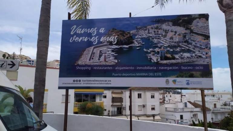 El puerto deportivo Marina del Este, protagonista de una campaña de promoción del Ayuntamiento de Almuñécar