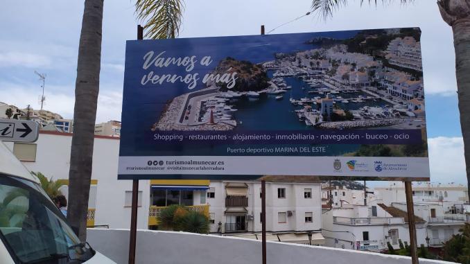 El puerto deportivo Marina del Este, protagonist of a campaign to promote the City of Almuñécar