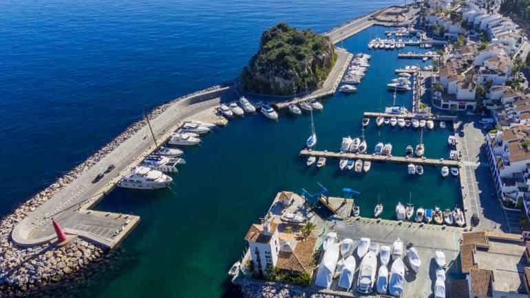 The Marina del Este marina faces the summer season bordering on full occupancy
