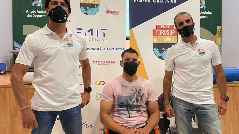 Marinas del Mediterráneo colabora con el reto solidario Desafío Inclusivo 3D que recorrerá todo el litoral andaluz