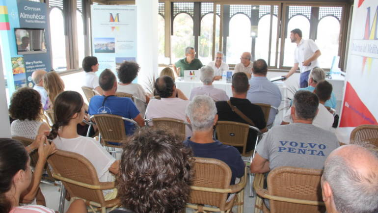 The Marina Marina of the East has hosted a talk on protected areas of the Sexitan coast