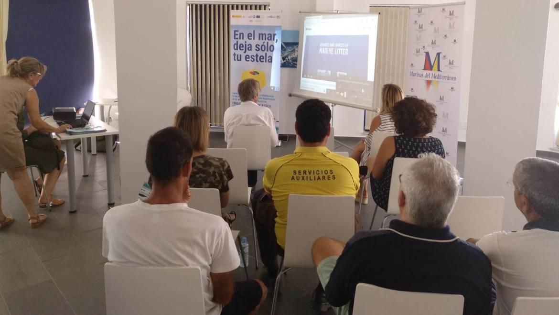 El grupo Marinas del Mediterráneo, comprometido con la concienciación de basuras marinas