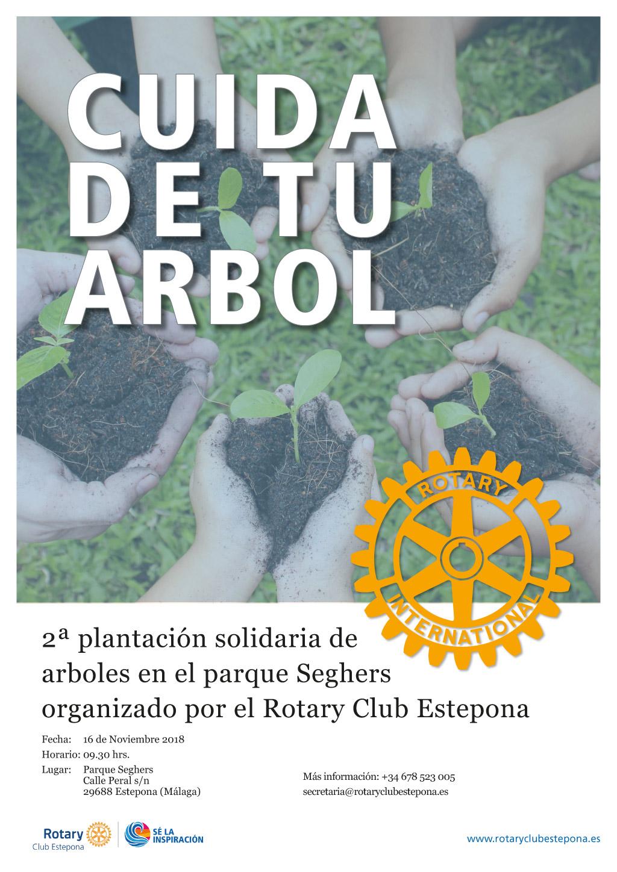 Marinas del Mediterráneo colabora en la 2ª Plantación Solidaria de Árboles en Estepona