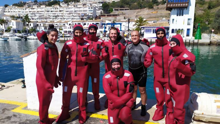 Marina del Este hosts the Basic Training in Maritime Safety for Professionals course