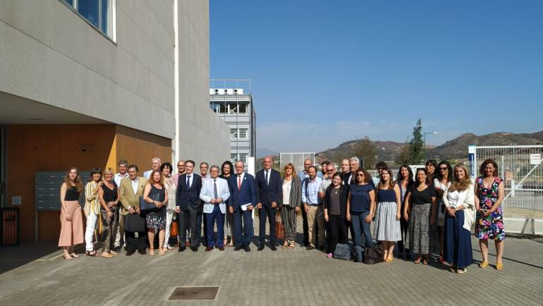 "The Group marine Mediterranean present in ""Opportunities for blue economy in Andalusia"""