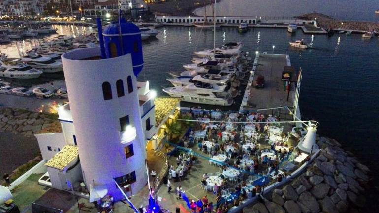 Mediterranean marinas gives benefit to their traditional 'sardinadas' in the marinas of Estepona and La Duquesa
