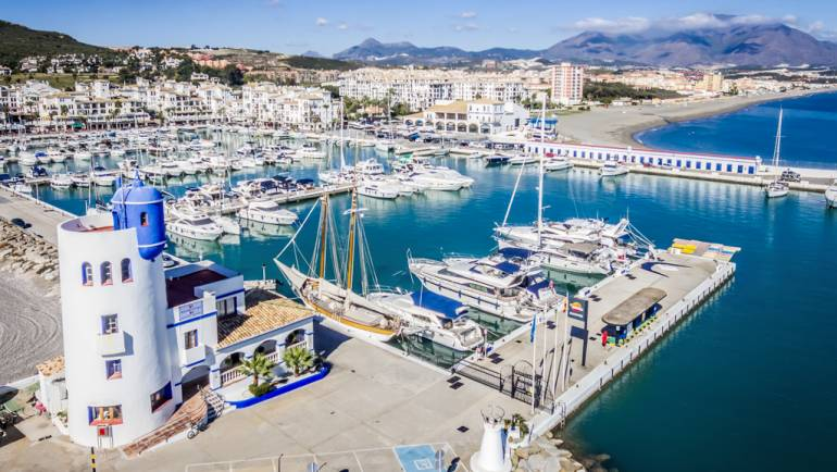 La Duquesa Marina registers an occupation of the 84% during the summer months