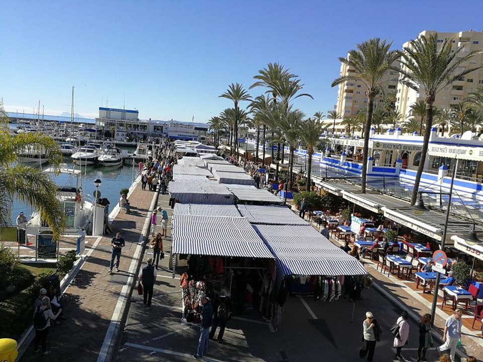 Estepona Marina suspends traditional Sunday market