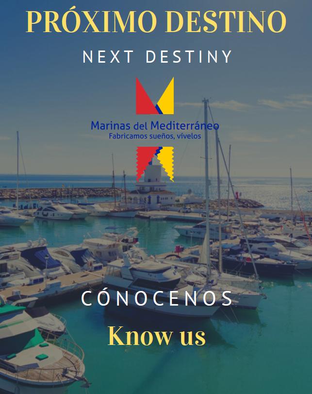 Nächstes Ziel: Mittelmeer-Marina-Häfen
