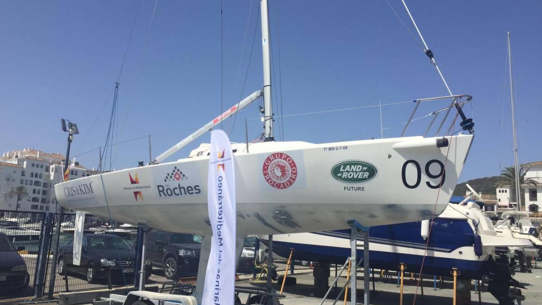 Marinas del Mediterráneo patrocina el barco de competición Marbella Team de la clase J80