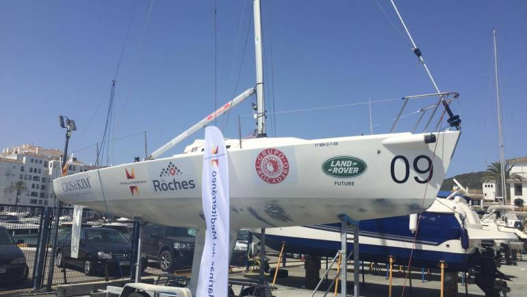 Mediterranean Marinas sponsors the J80-class Marbella Team competition ship
