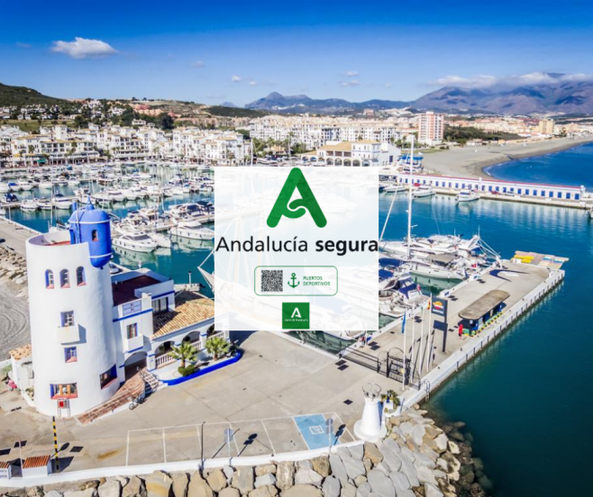 """El Puerto Deportivo de La Duquesa consigue el distintivo """"Andalucía Segura"""""""