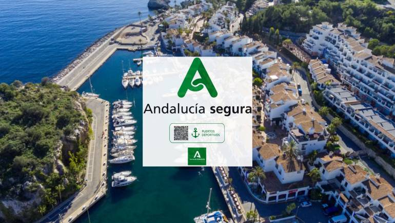 Marina del Este recognized for its work against covid-19 with the seal 'Andalucía Segura'