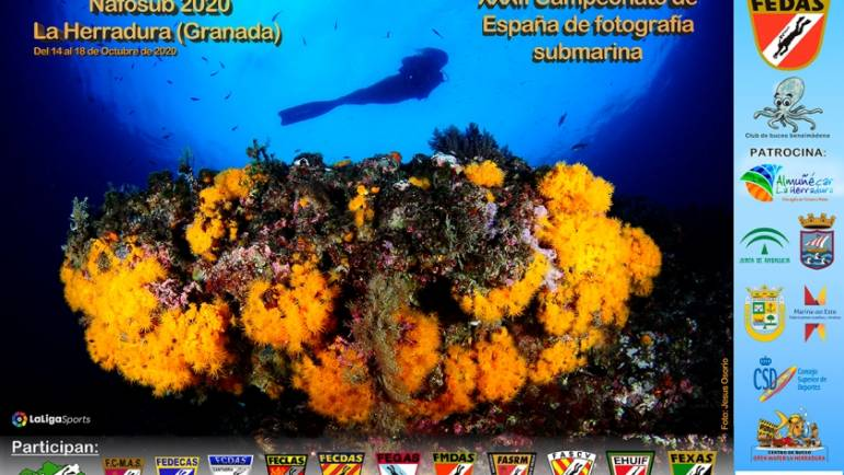 The XXXII Spanish Underwater Photography Championship is held in the 14 to the 18 October