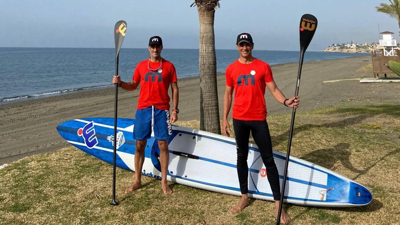 Marinas del Mediterréneo arbeitet mit der Challenge Senda Litoral von Toro SUP zusammen, die entlang der Küste von Malaga reisen wird