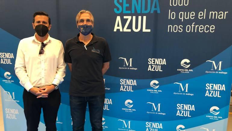El director gerente de Marinas del mediterráneo, Manuel Raigón, ha acudido a la presentación del Proyecto de la Senda Azul