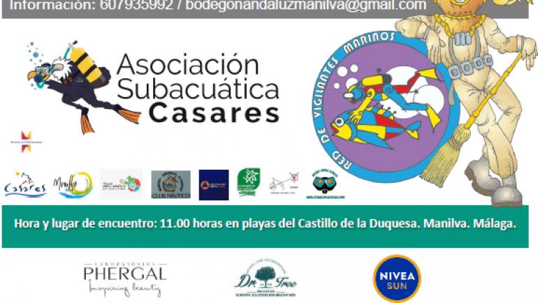 Die Unterwasservereinigung von Casares organisiert die VII. Internationale Reinigung des Meeresbodens